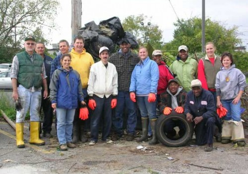 North Randall Stream Clean-up
